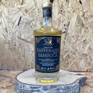 Liquore alla Zafferano a base di Sambuca